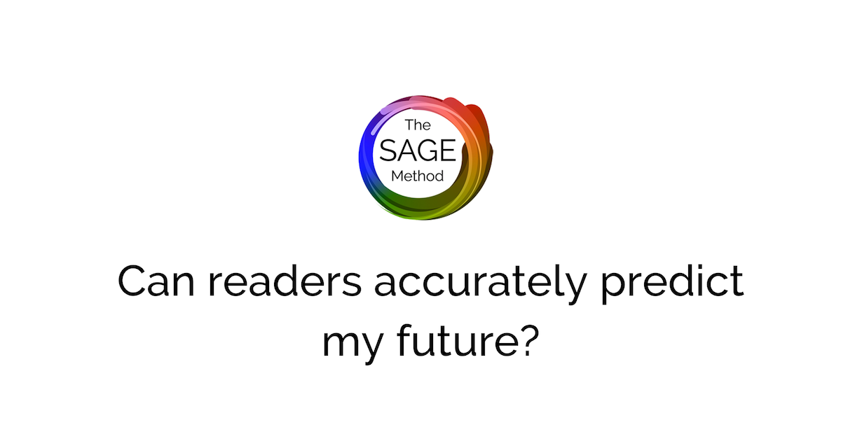 can readers accurately predict my future