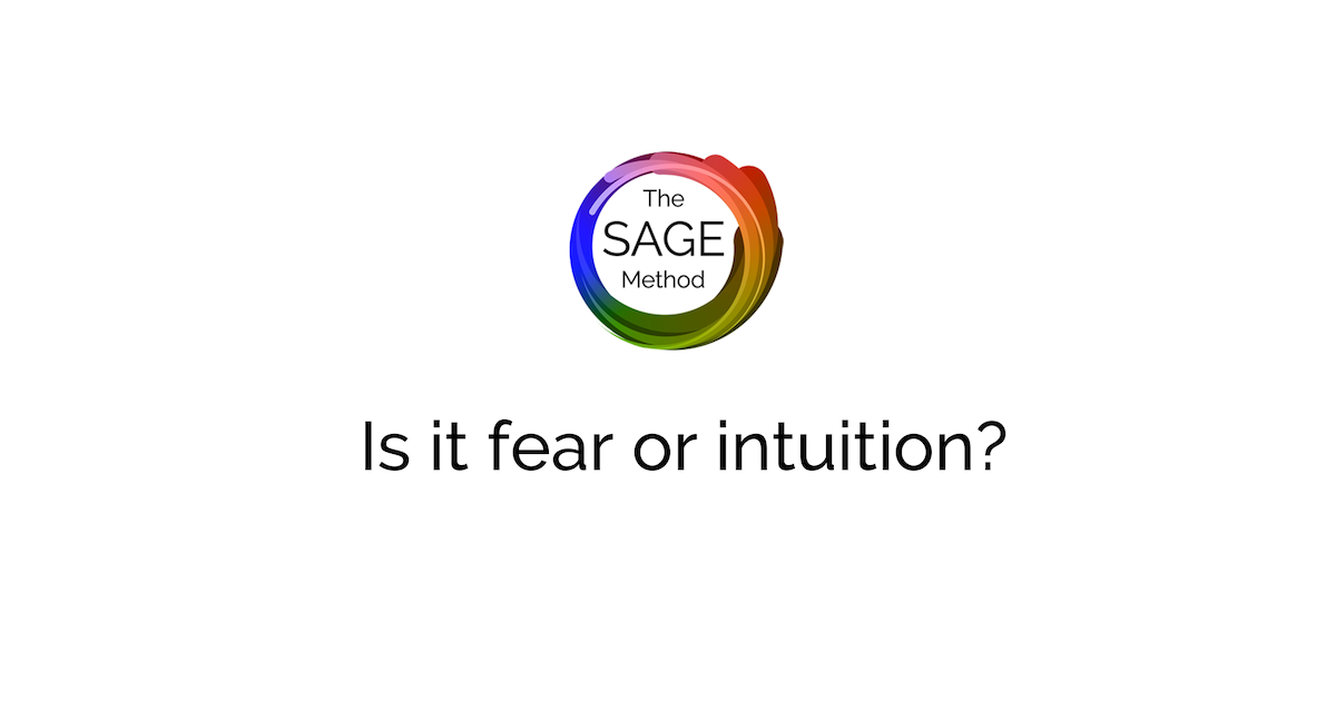 is it fear or intuition