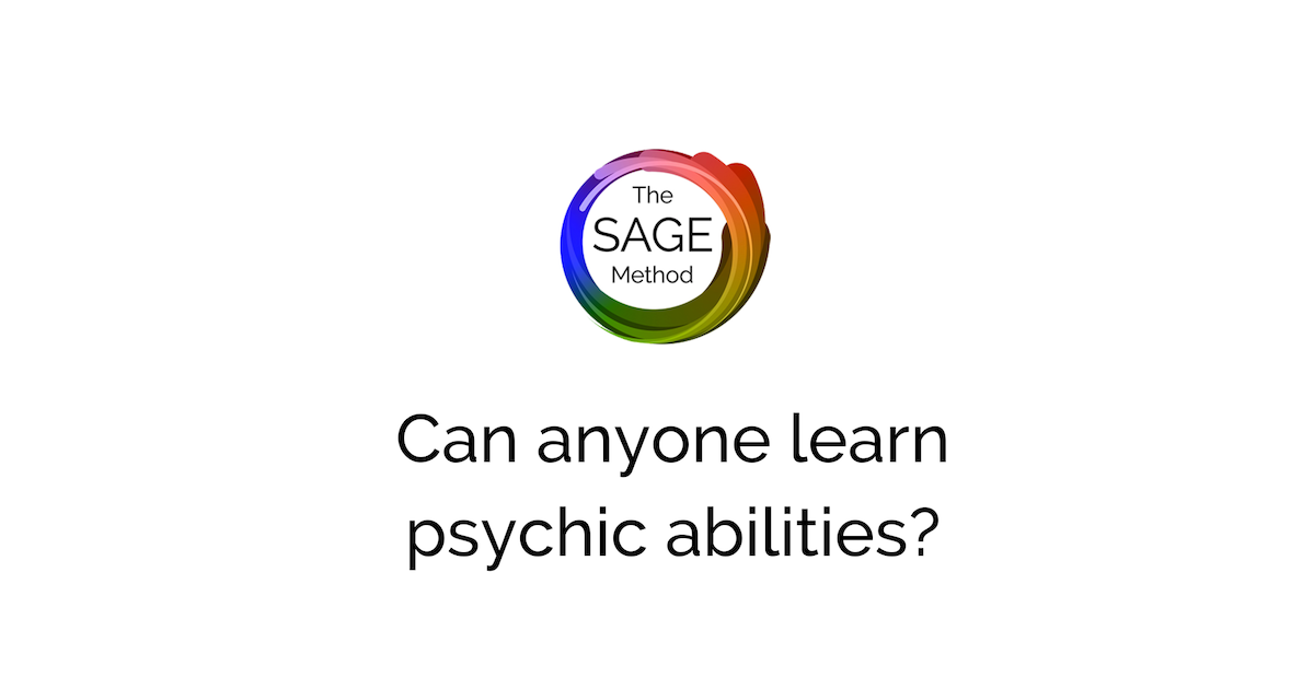 Can anyone learn psychic abilities