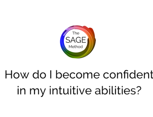 How do I become more confident in my intuitive abilities?