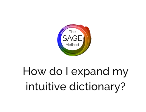 How do I expand my intuitive dictionary?