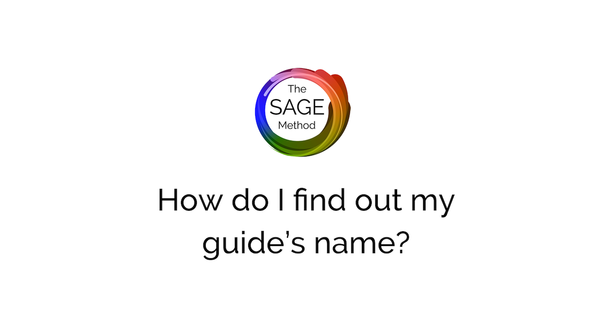 How do I find out my guides name