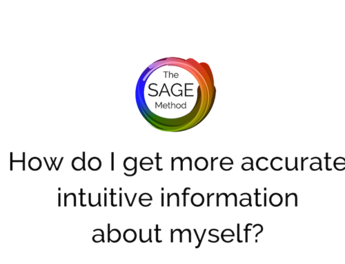 How do I get more accurate intuitive information about myself?