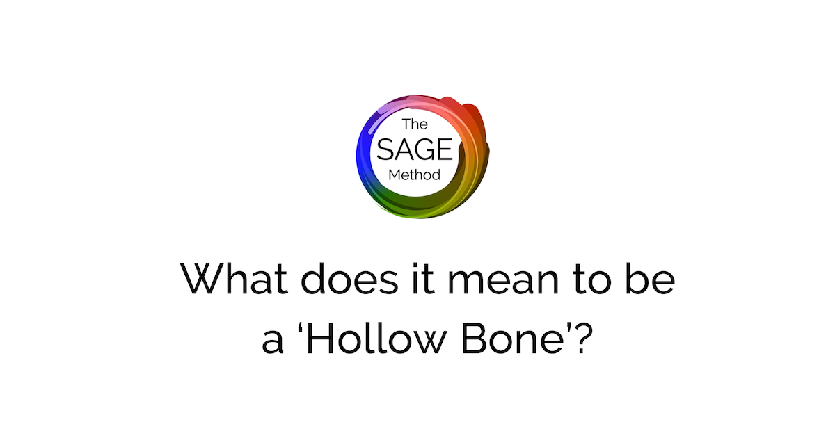 What does it mean to be a hollow bone