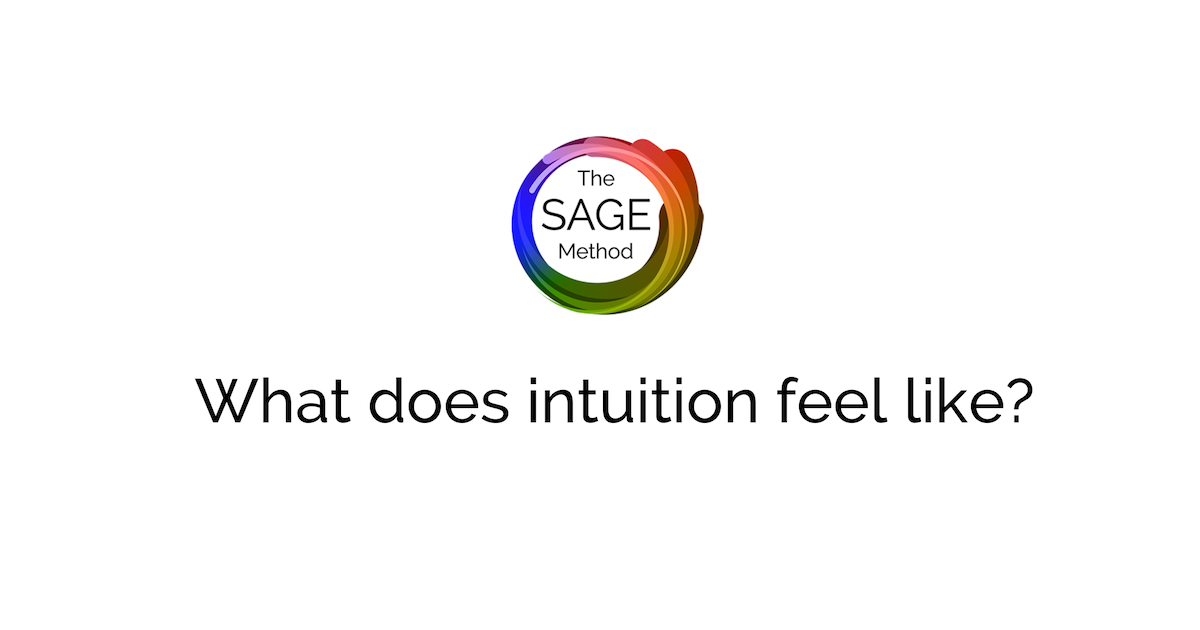 what does intuition feel like