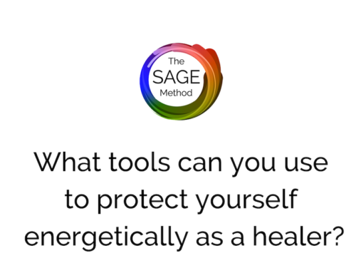 What tools can you use to protect yourself energetically as a healer?