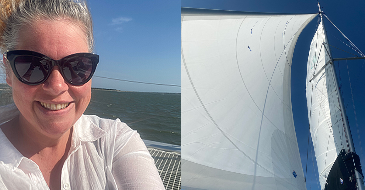 Manifesting With an Unlimited Mind on a catamaran